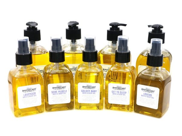 Massage and Bath Oils